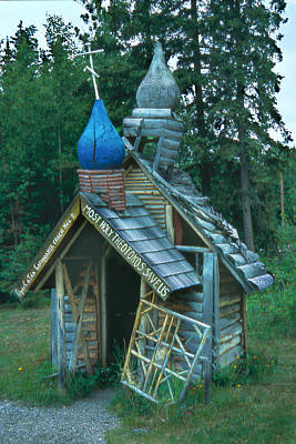 Photograph - Russian Orthodox Chapel In Alaska by Alan Toepfer