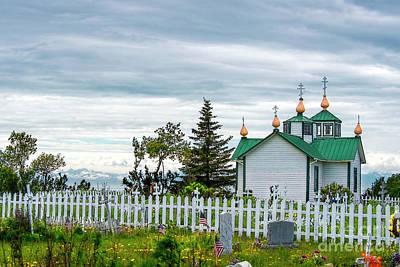 Photograph - Russian Orthodox Church by David Arment