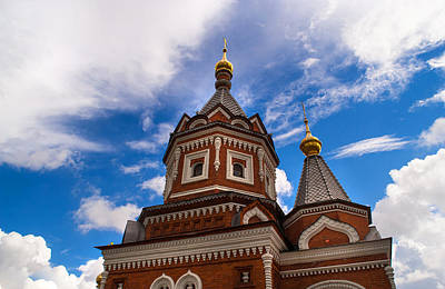Photograph - Russian Orthodox Church by Jenny Rainbow