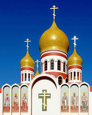 Photograph - Russian Orthodox Cathedral by KJ Swan