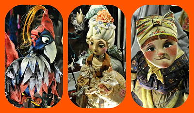 Photograph - Russian Puppet Craft by Jacqueline M Lewis