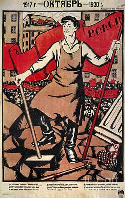 Russian Revolution, 1920 Print by Granger