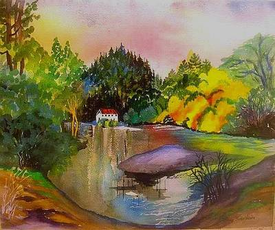 Painting - Russian River Dream by Esther Woods