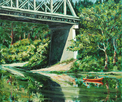 Russian River Art Print
