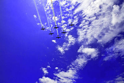 Photograph - Russian Roolettes Soaring Through The Skies  by Miroslava Jurcik