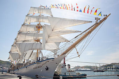 Photograph - Russian Sailing Ship by Aiolos Greek Collections