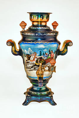 Photograph - Russian Samovar Troika  by Olga Hamilton