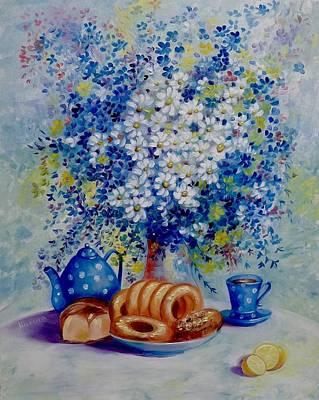 Russian Tea Time II Original by Marina Wirtz