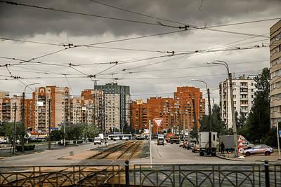 Photograph - Russian Urban Life by KG Thienemann