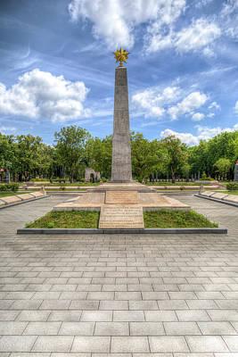 Photograph - Russian War Graves Budapest by David Pyatt