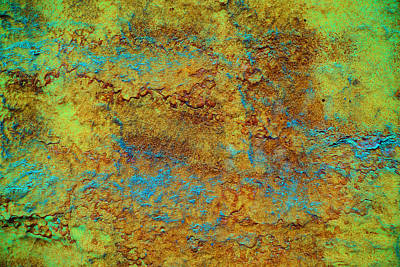 Contemporary Photograph - Rust 1 Abstract  by Lilia D