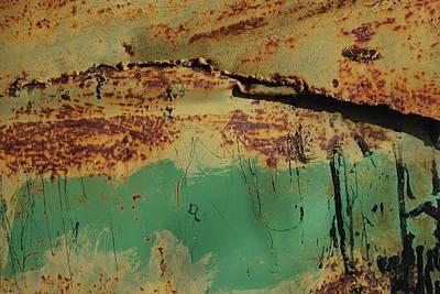 Photograph - Rust 3 by Anna Shutt