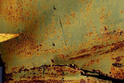 Photograph - Rust 4 by Anna Shutt