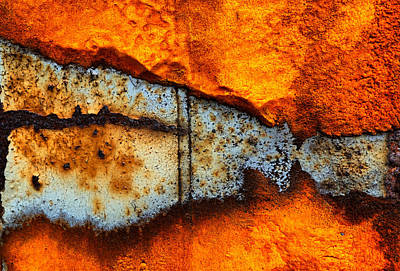 Photograph - Rust Abstract 4 by Lilia D