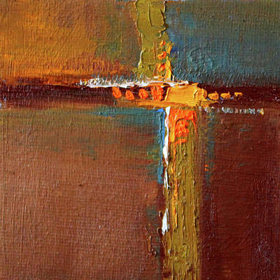 Painting - Rust Abstract Painting by Nancy Merkle