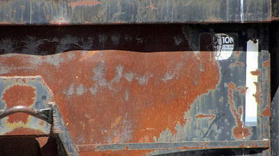 Photograph - Rust And Blue 2 by Anita Burgermeister