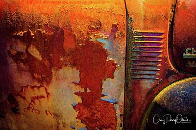 Photograph - Rust And Diesel by Craig Perry-Ollila