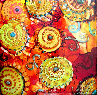 Painting - Rust And Gears by Jeanette Skeem