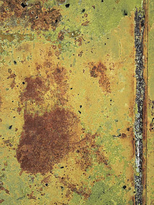 Photograph - Rust And Line by David King
