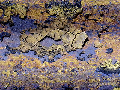 Painting - Rust And Paint by Alan Johnson