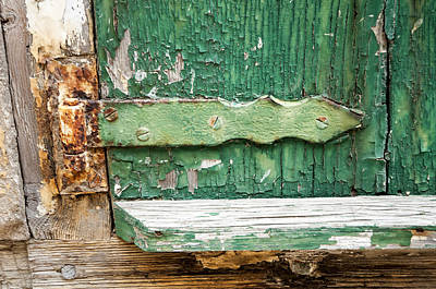 Photograph - Rust And Paint by Allen Carroll
