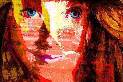 Other Automobiles Digital Art - Rust And Redhead Of Dream by Lawrence O'Toole