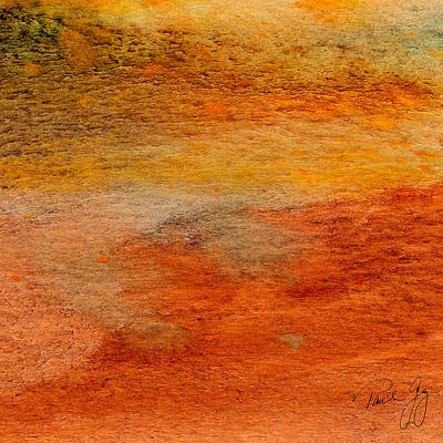 Rust And Sand 2 Art Print