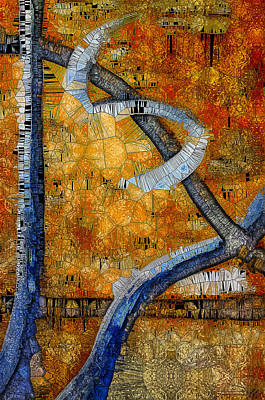Digital Art - Rust And Stain by Heidi Moss