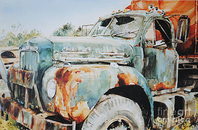 Painting - Rust Assured by P Anthony Visco