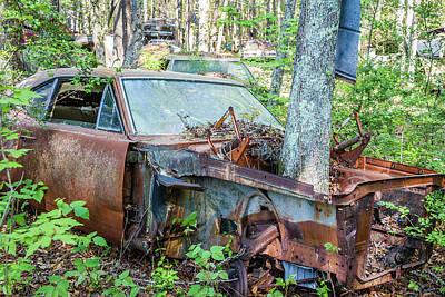 Photograph - Rust Away by Menachem Ganon