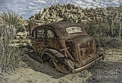 Photograph - Rust Bucket Vintage by Sandra Selle Rodriguez