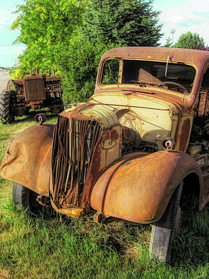 Photograph - Rust Buddies by David King