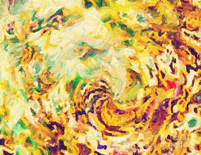 Digital Art - Rust by Ed Churchill