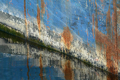 Photograph - Rust In Abstract by Fraida Gutovich