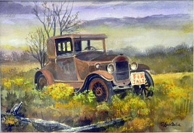 Rust In Peace  Sold Art Print
