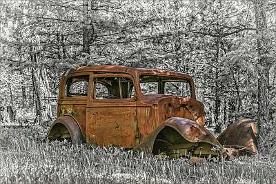 Photograph - Rust In Peace by Joe Hudspeth