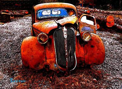 Photograph - Rust In Peace by Sadie Reneau