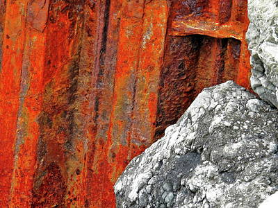 Photograph - Rust N Rocks Rock N Rye by John King