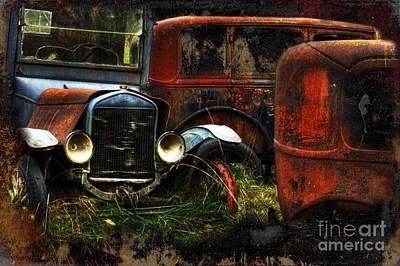 Photograph - Rust Never Sleeps by Bob Christopher