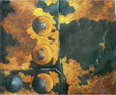 Painting - Rust Never Sleeps by Michael Cranford