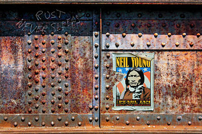 Neil Young Photograph - Rust Never Sleeps, Neil Young by Mal Bray