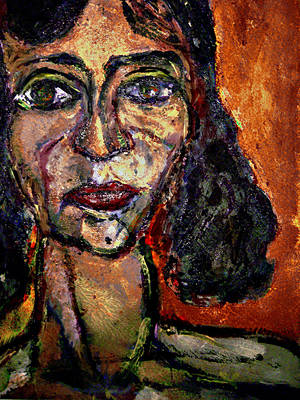 Depression Mixed Media - Rust by Noredin Morgan