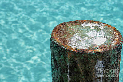 Photograph - Rust On Dock by Patricia Hofmeester