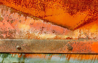 Rust On Rust Art Print