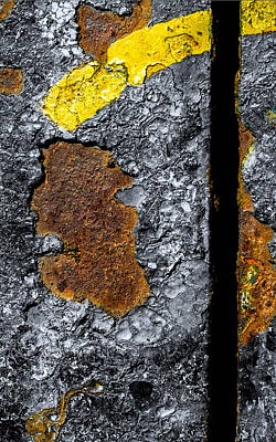 Photograph - Rust On The Railroad Bridge by Bob Orsillo