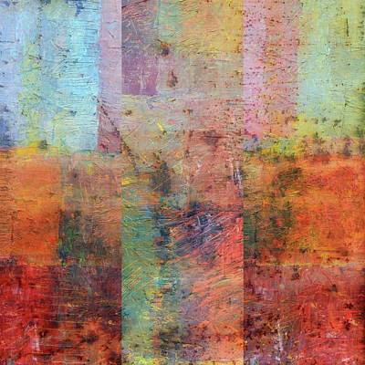 Compilation Painting - Rust Study 1.0 by Michelle Calkins