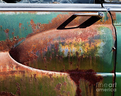 Photograph - Rusted 2 by Patrick M Lynch