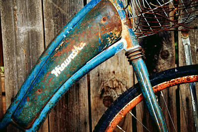 Wheel Thrown Photograph - Rusted And Weathered by Toni Hopper