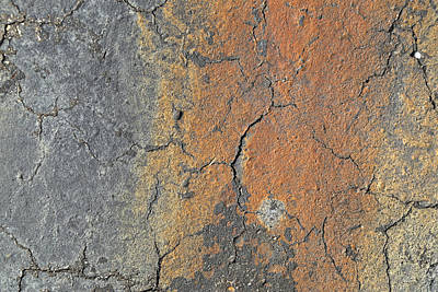 Design Pics - Rusted Asphalt by Jim Clark