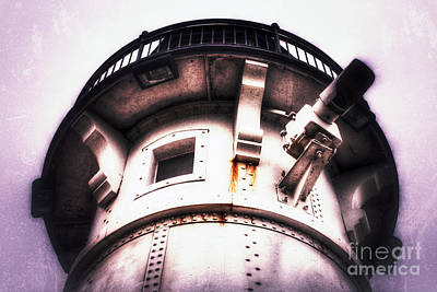 Photograph - Rusted Beacon by Mark David Zahn